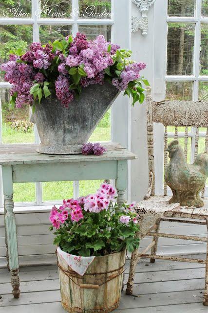decorazioni giardino idee fresche chic : Primavera: decorazioni shabby chic! Vintage & Shabby Chic Blog by ...